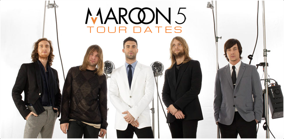 Maroon 5 Tour Dates